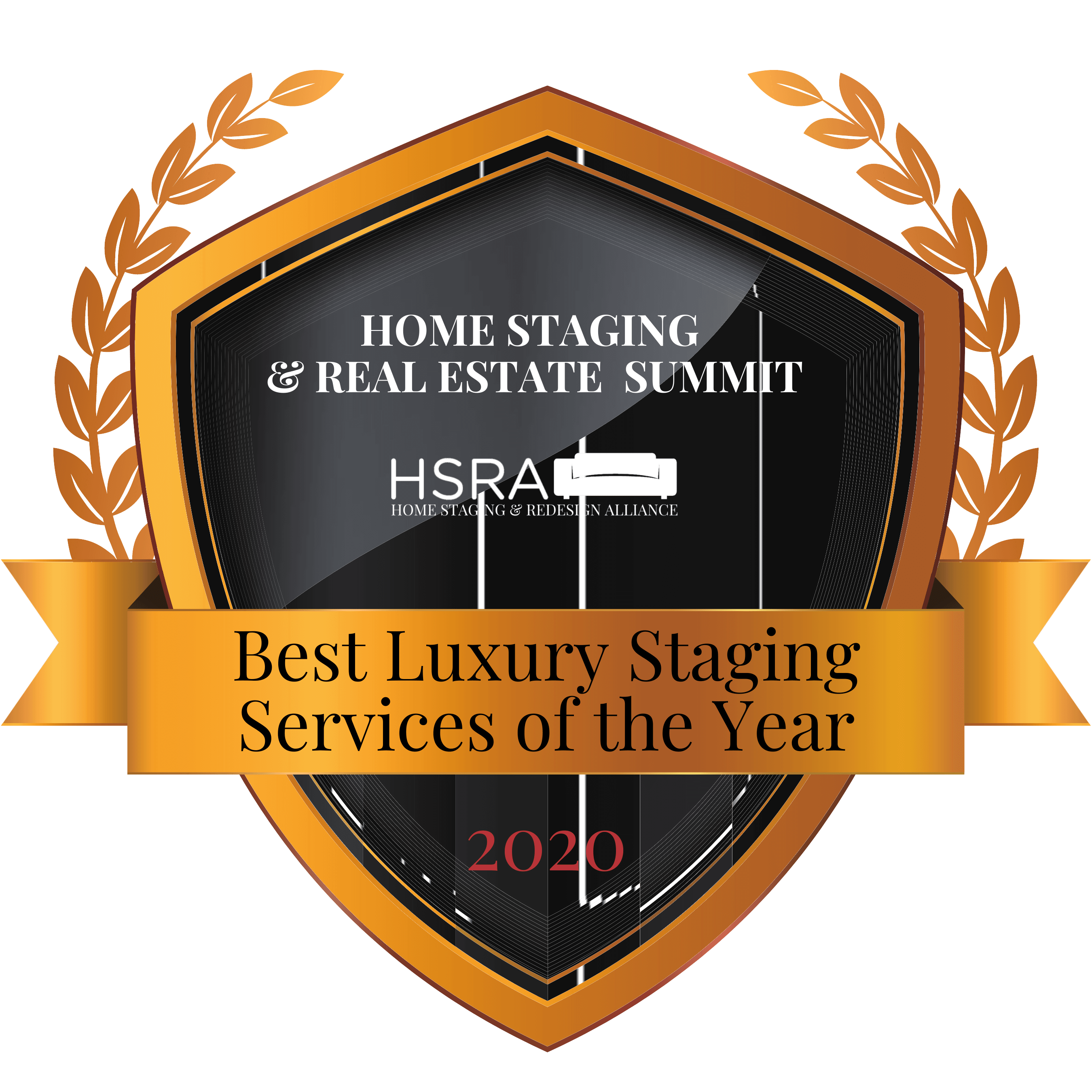 2020 HSRA Best Luxury Staging Service of the Year