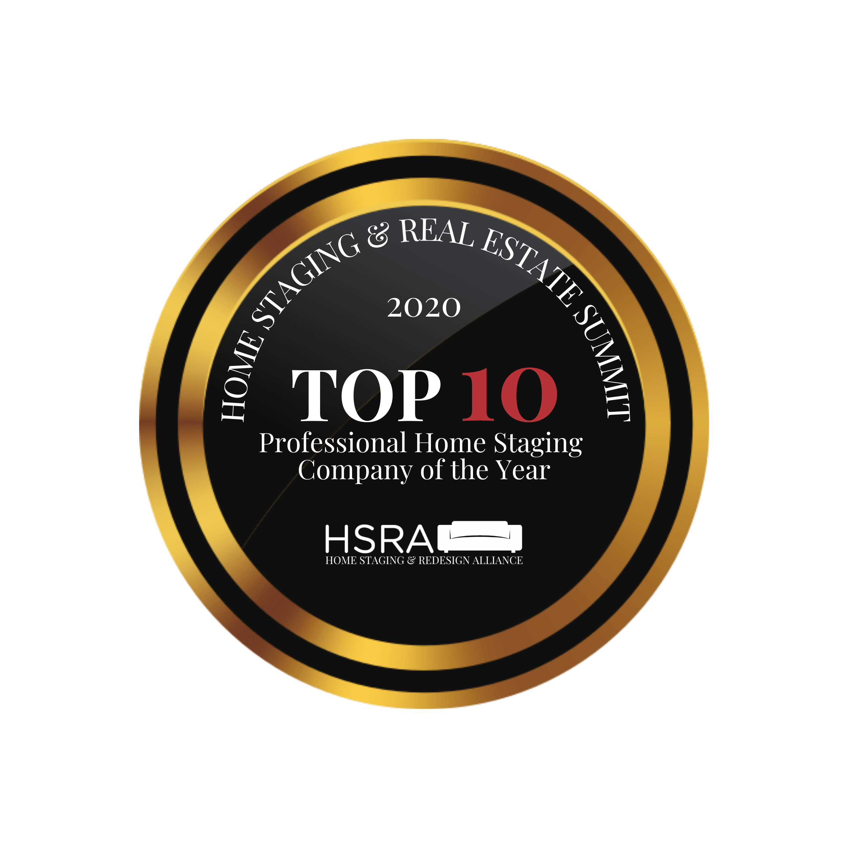 2020 HSRA Top 10 Professional Home Staging Company of the Year